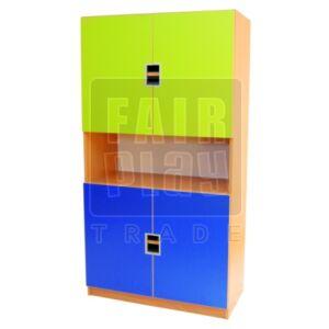 Peti dupla ajtós szekrény