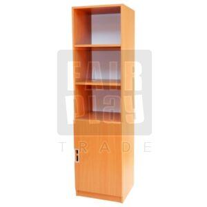 Peti könyves szekrény ajtóval