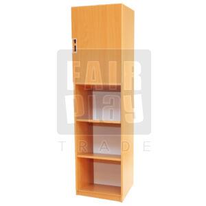Peti könyves szekrény felső ajtóval