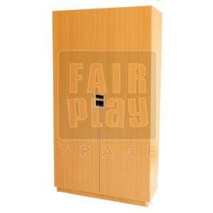 Peti teli ajtós-polcos szekrény