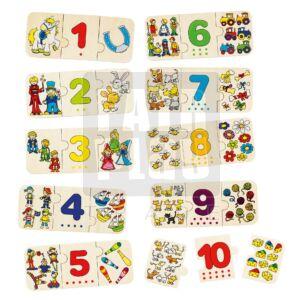 Számolás puzzle