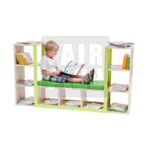 Térelválasztó könyves szekrény