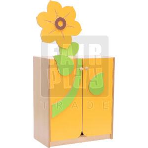 Virág szekrény